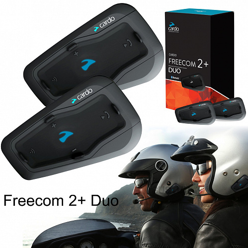 Мотогарнитура Cardo Scala Rider FREECOM 2+ DUO